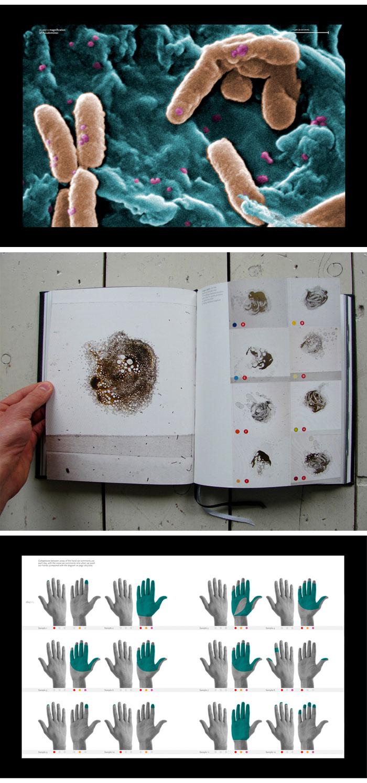 The Invisible Galaxy –book design