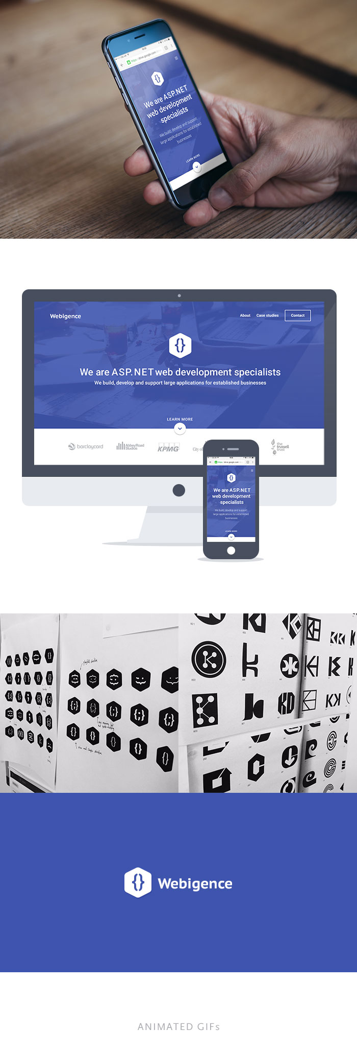 Webigence responsive website